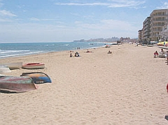 property rental on the Costa Blanca, on the sunny east coast of Spain